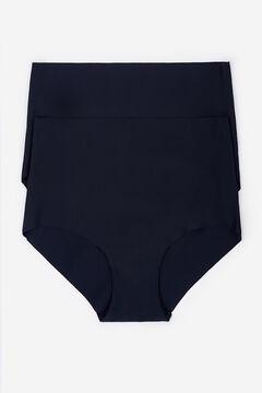Womensecret 2 High waist panties черный