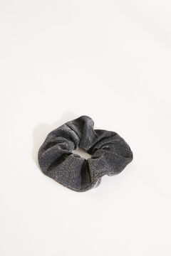 Womensecret Черная резинка для волос макси черный