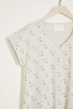 Womensecret Ночная рубашка миди «Чип» серый