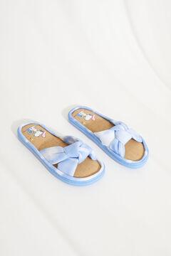 Womensecret Сандалии «Снупи» с перекрещенными ремешками в стиле тай-дай голубой