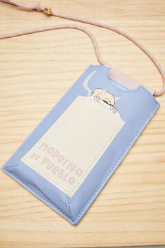 Womensecret Подвесной чехол для iPhone Moderna de Pueblo голубой