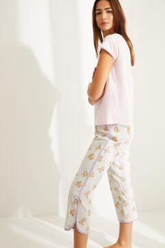 Womensecret Короткая пижама из хлопка «Гарфилд» розовый