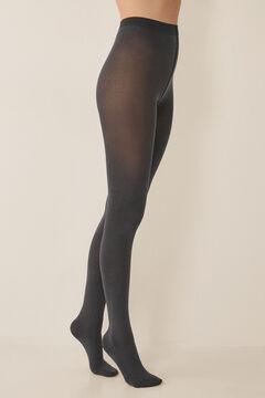 Womensecret Базовые колготки трусики 90 DEN серый