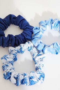 Womensecret Набор из 3 резинок для волос синего цвета бежевый
