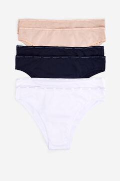 Womensecret 6 microfiber brazilian panties pack цветной