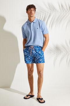 Womensecret Короткие купальные шорты с принтом «Рыбки» голубой