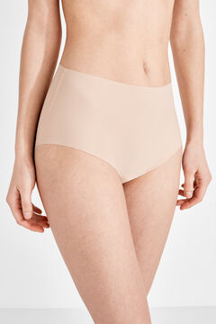 Womensecret 2 High waist panties бежевый