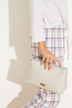 Womensecret Серая косметичка среднего размера серый