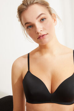 Womensecret Triangular Push up bra черный