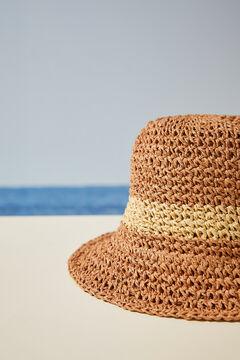 Womensecret Шляпа-ведро натурального цвета бежевый