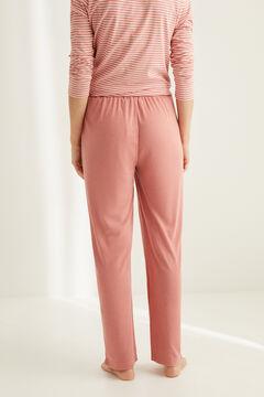 Womensecret Невероятно мягкие широкие брюки розового цвета розовый