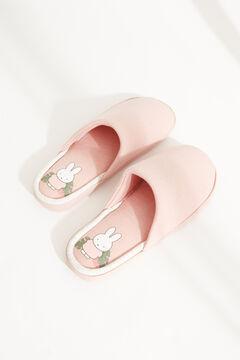 Womensecret Домашние тапочки без задника «Миффи» розового цвета розовый