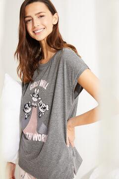 Womensecret Серая пижама с длинными рукавами «Суперкрошки» серый
