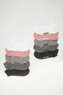 Womensecret Набор из 5 пар коротких спортивных носков цветной