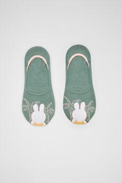 Womensecret Короткие носки зеленый