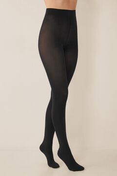 Womensecret Базовые колготки трусики 90 DEN черный