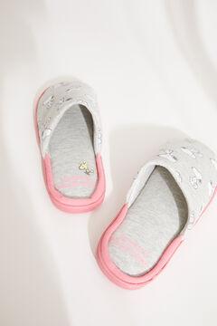 Womensecret Домашние тапочки без задника серого цвета «Снупи» серый