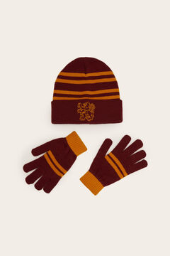 Womensecret Набор из шапки и перчаток «Гарри Поттер» цветной