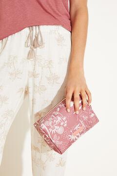 Womensecret Косметичка-футляр среднего размера розовый