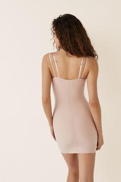 Womensecret Корректирующее терморегулирующее платье без чашек бежевый