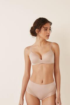 Womensecret High waist Shape brief бежевый