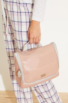 Womensecret Большая подвесная косметичка розового цвета розовый