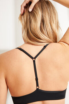 Womensecret T-back bra черный