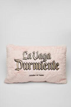 Womensecret Подушка с мехом Moderna de Pueblo розовый