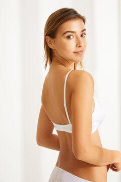Womensecret Wireless triangular bra белый