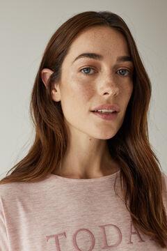 Womensecret Длинная розовая пижама розовый