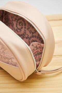 Womensecret Розовая косметичка с принтом пейсли из экоматериалов розовый
