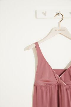 Womensecret Ночная рубашка миди розового цвета розовый