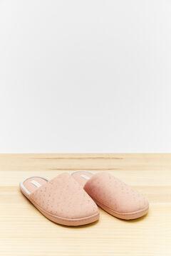 Womensecret Розовые домашние тапочки без задника розовый