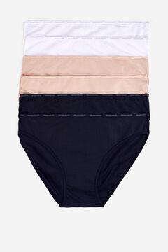 Womensecret 6 microfiber classic panties pack цветной