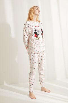 Womensecret Флисовая пижама «Минни-Маус» серый