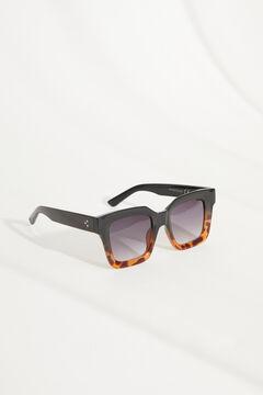 Womensecret Квадратные солнцезащитные очки с разноцветный футляр цветной