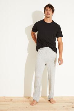Womensecret Удлиненные брюки серого цвета серый