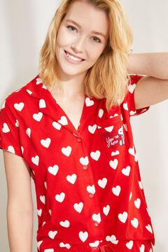 Womensecret Пижама в рубашечном стиле «Снупи» цветной