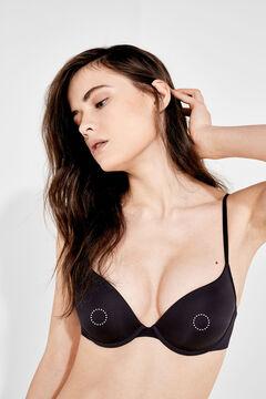 Womensecret Soft adhesive fabric nipple pads бежевый