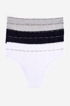 Womensecret 6 cotton brazilian panties pack цветной