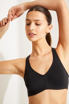 Womensecret Sports bra черный
