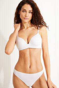 Womensecret Triangular Push up bra белый