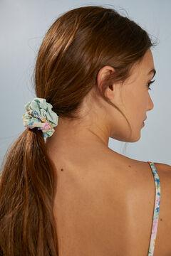 Womensecret Набор из 3 резинок для волос с принтом бежевый