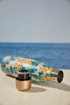 Womensecret Металлическая бутылка с цветами цветной