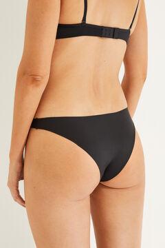 Womensecret 2 microfiber brazilian panties pack черный