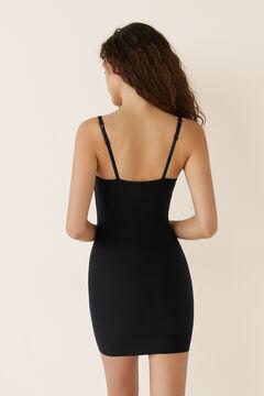 Womensecret Корректирующее терморегулирующее платье без чашек черный
