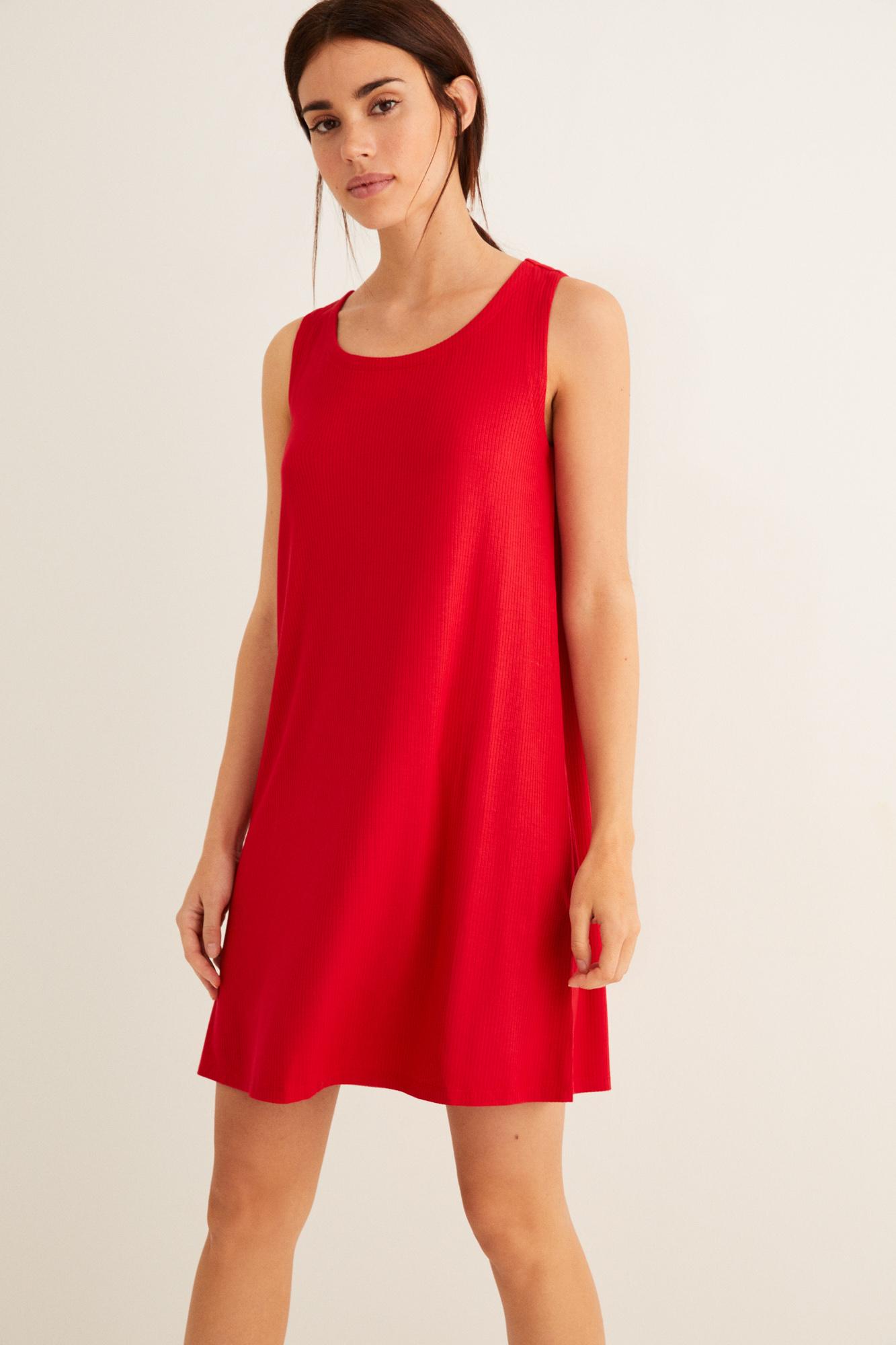 Платье с завязкой на шнурок на спине | Купальники | Women